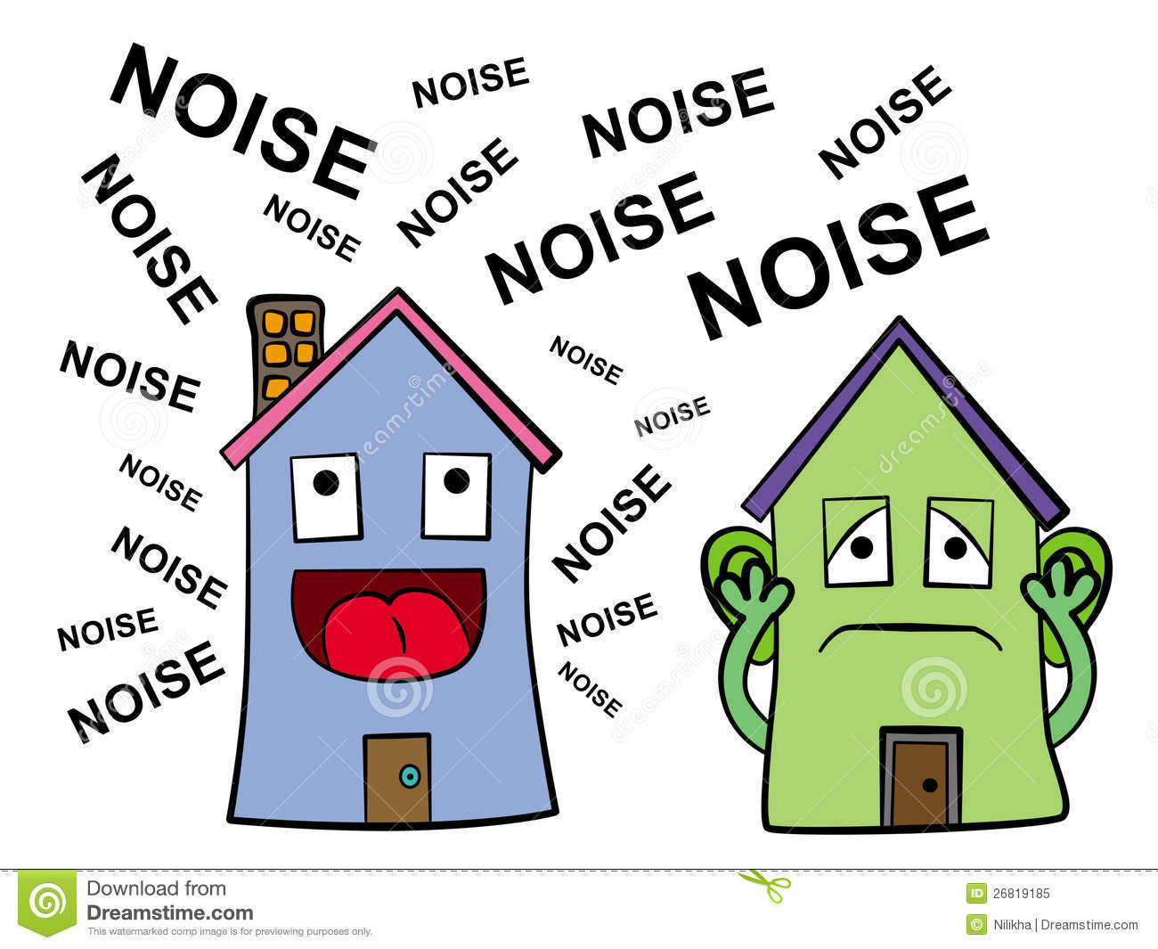 Noise clipart noisy child For is N is The
