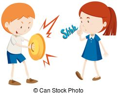 Noise clipart noisy child And Illustrations Noisy 5 free