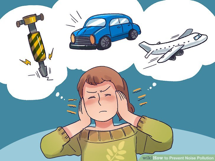 Noise clipart polution WikiHow 3 Prevent Pollution Step