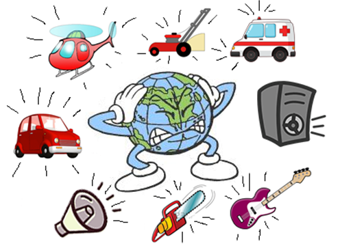 Noise clipart polution Emaze Health Pollution Excessive on