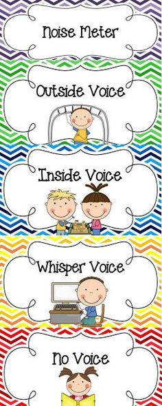 Noise clipart quiet kid Clipart and Sweet monitor FREEBIE!