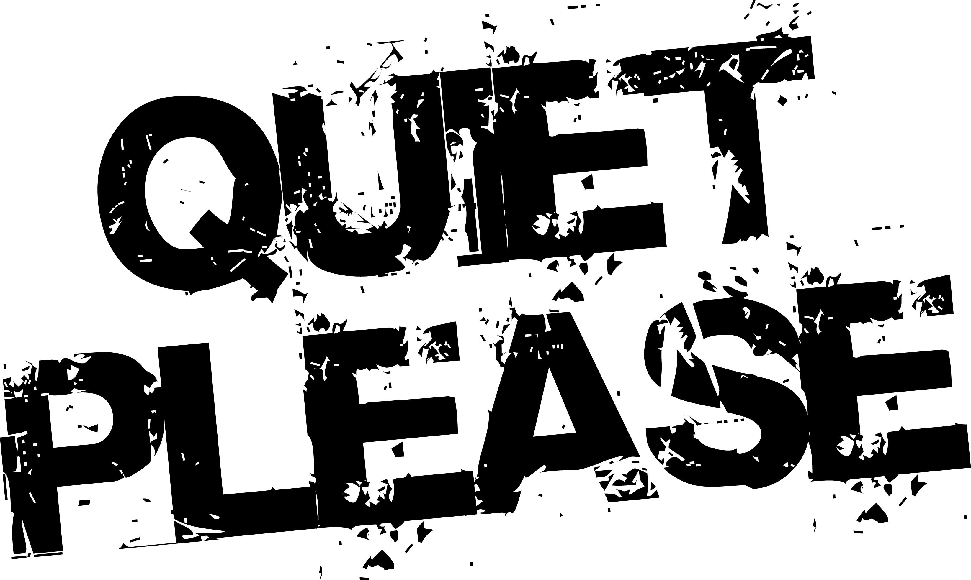 Noise clipart quiet please Cliparts Cliparts Quiet Quiet Please