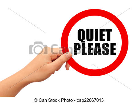 Noise clipart quiet please And isolated 211 Illustrations Quiet