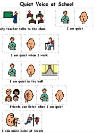 Noise clipart quiet voice A teach great boardmaker match
