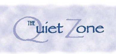 Noise clipart quiet zone NPC Zone 2002 Quiet Newsletter
