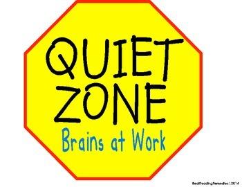 Noise clipart quiet zone Quiet Signs signs Management Quiet