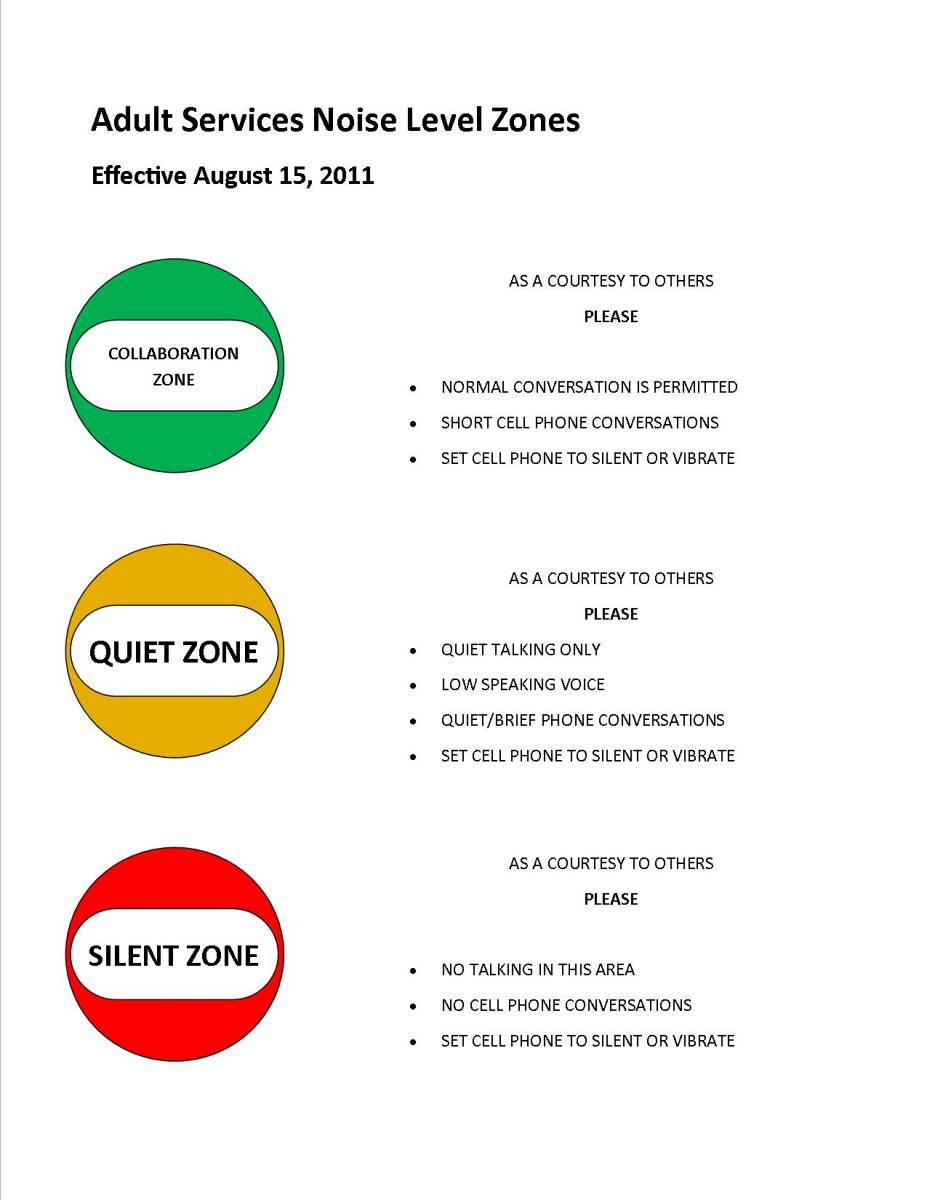 Noise clipart quiet zone Sign Art Zone Clip Clip