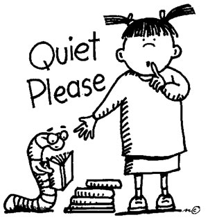 Noise clipart quietly And Quiet that Silent Quiet