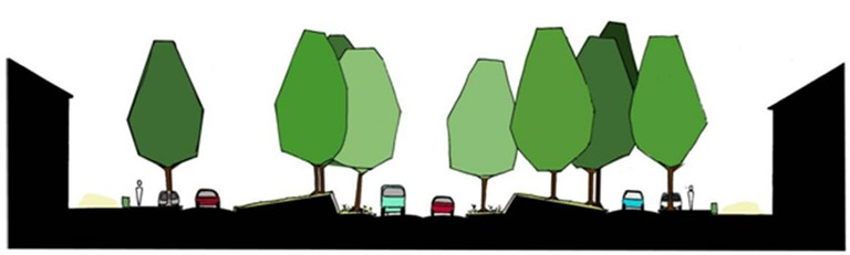 Noise clipart quite In Cutting traffic lane reduction