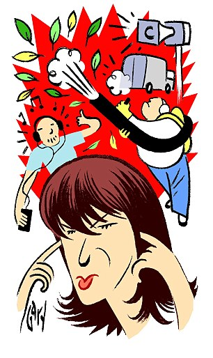 Noise clipart racket Darned JANET  Britain's straw: