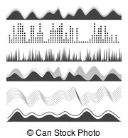 Noise clipart rhythm Sound Waves Digital Track Frequency