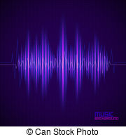Noise clipart rhythm Sound waves background equalizer with