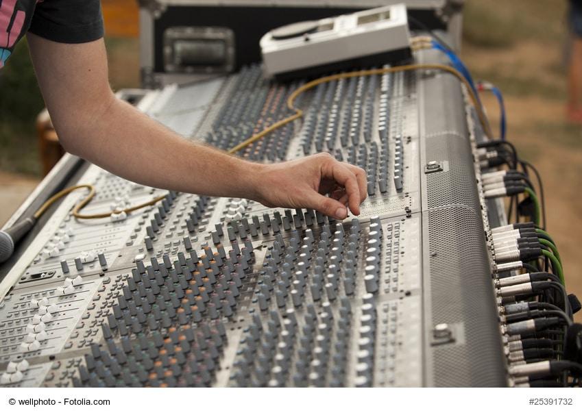 DJ clipart sound technician Technician Sound Salary Technician Sound