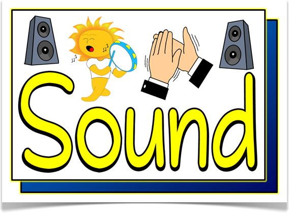 Noise clipart science sound Set Displays sound about on