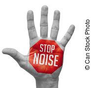 Noise clipart shhh Bare noise on Illustrations
