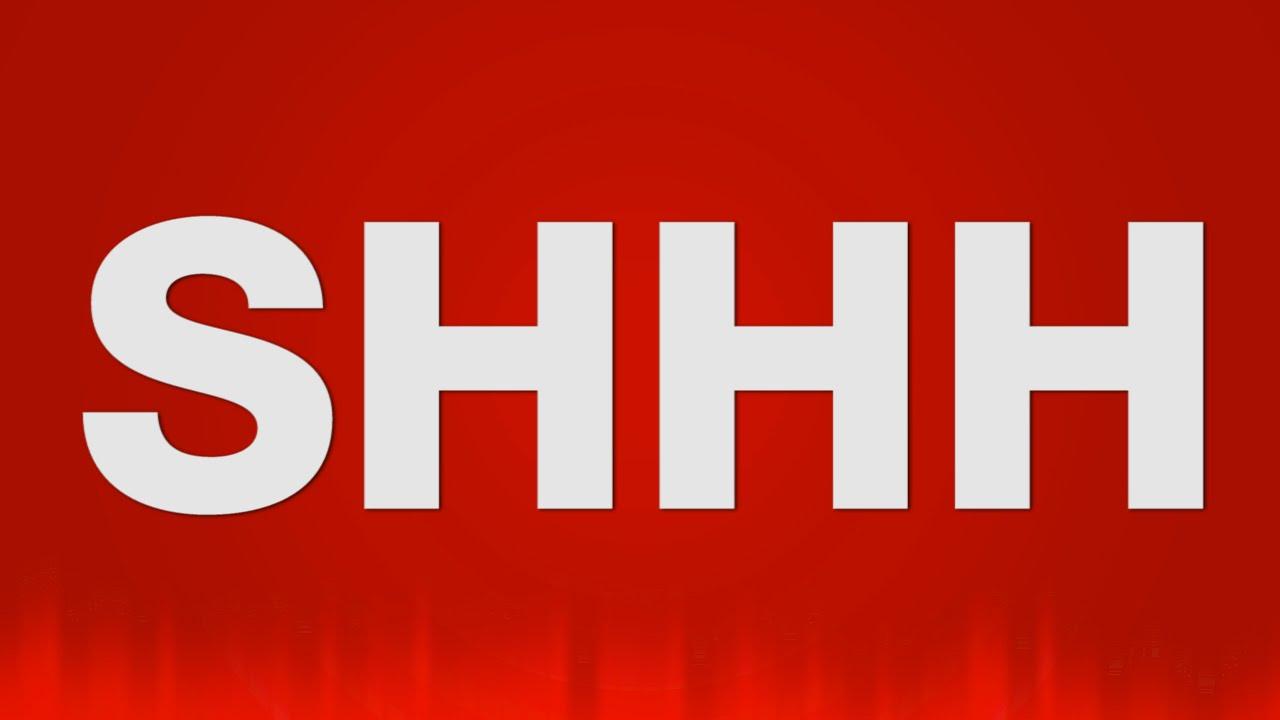 Noise clipart shhh Shhh Psst Shush Shhh SOUNDS