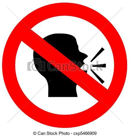 Noise clipart silent Clip No No Noise Noise