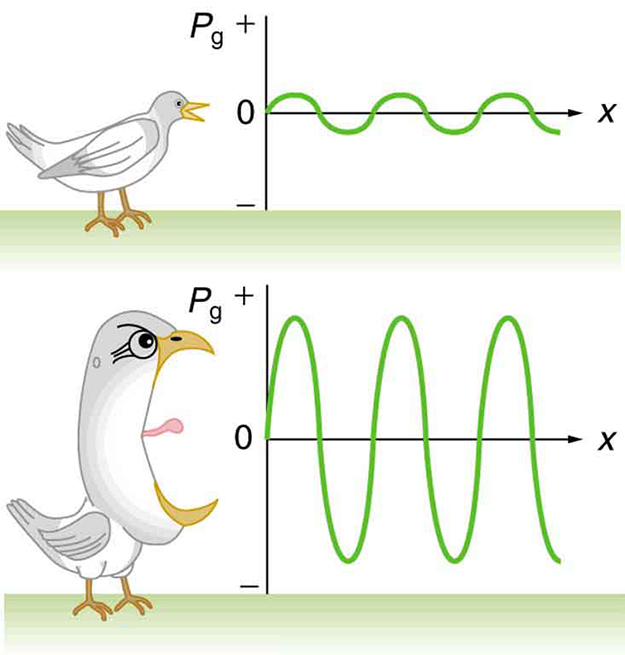 Noise clipart sound energy One bird The graphs shows