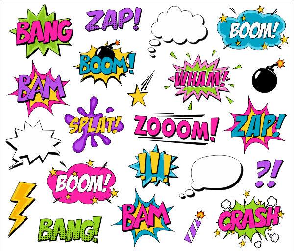 Comics clipart superhero Art YDC109 clipart clip Comic