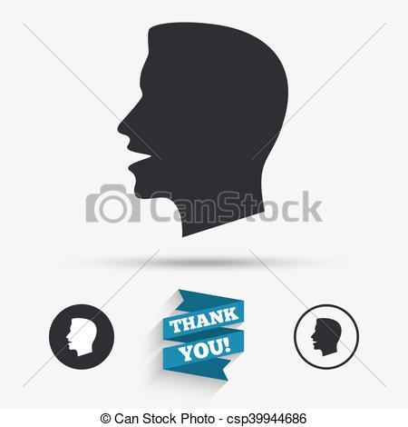 Noise clipart talk Instant Art Vector you symbol