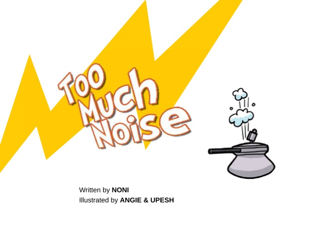 Noise clipart too Much 3 BOOKS; Too low