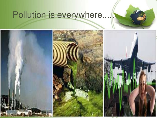 Noise clipart visual pollution TypesAir Pollution by m types