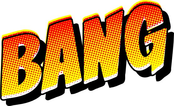 Noise clipart wham 29 images comic 555px Bang