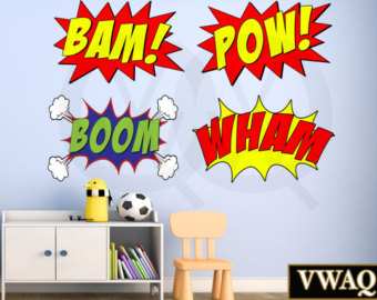 Noise clipart wham Book Pow Wham Effects Pack
