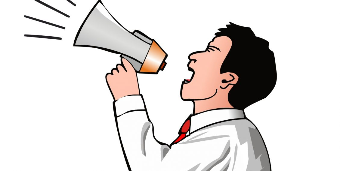 Noise clipart yelling Hear Noise through Market the