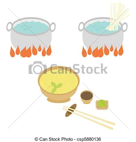 Noodle clipart japanese food On of Clip cooking of
