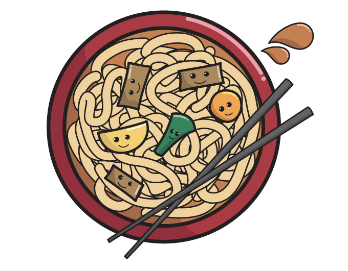 Noodle clipart cute You can (too to get