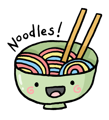 Noodle clipart cute To bring break normal you