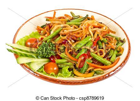 Noodle clipart fried noodle Fried Noodle  Noodle csp8789619