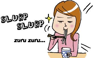 Noodle clipart japan It JAPAN) louder noodles them
