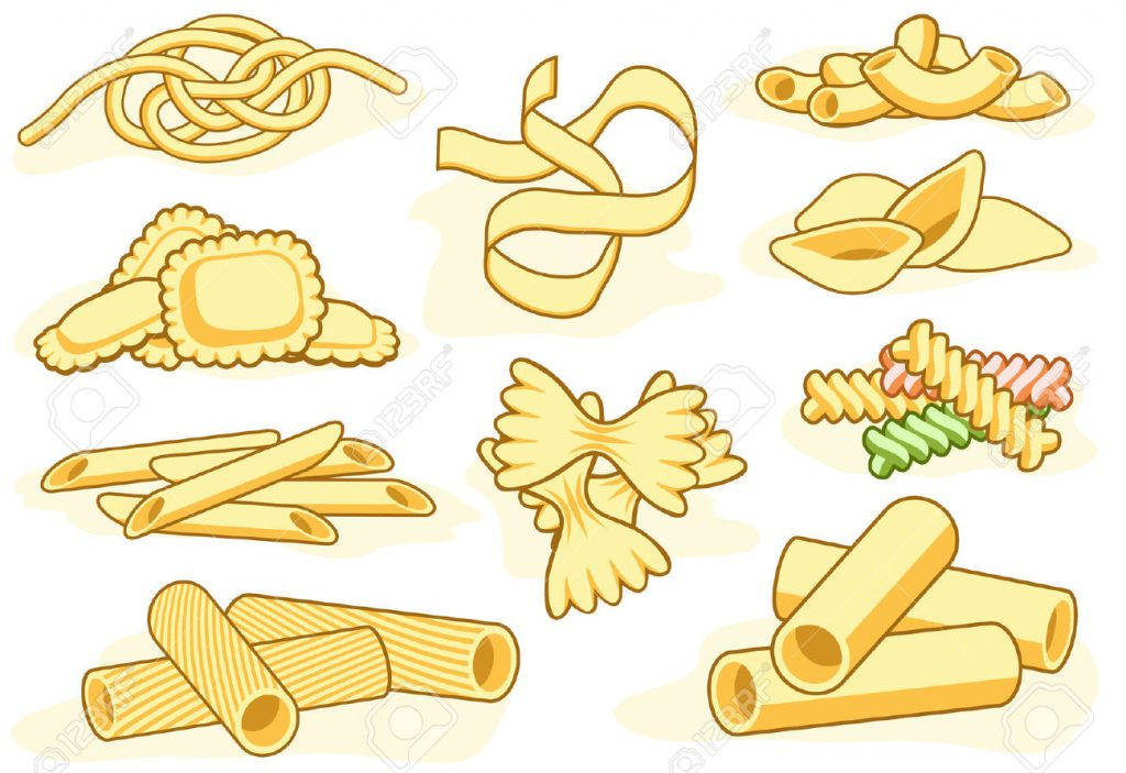 Noodle clipart one Clipart Free Macaroni Free Clip