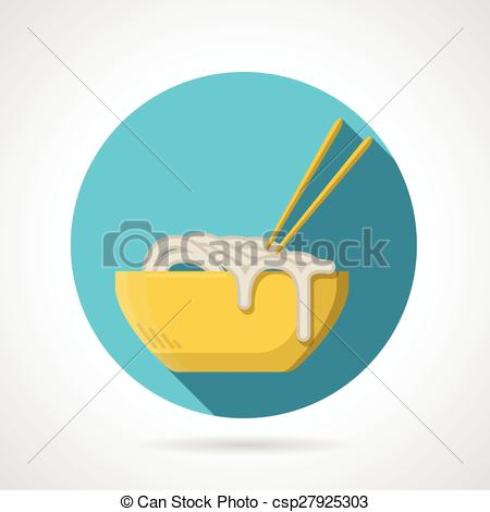 Noodle clipart single Single noodles round Noodles with