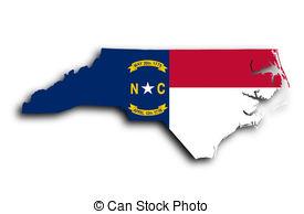 North Carolina clipart Filled North 1 Stock Clip