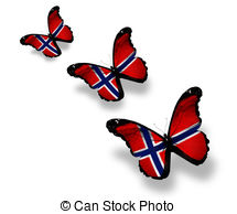Norway clipart 6 Stock on EPS Norwegian