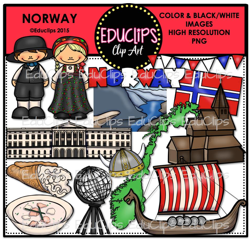 Norway clipart Store to Art Wishlist (Color