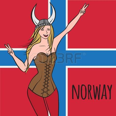 Girl girl clipart clipart Norway