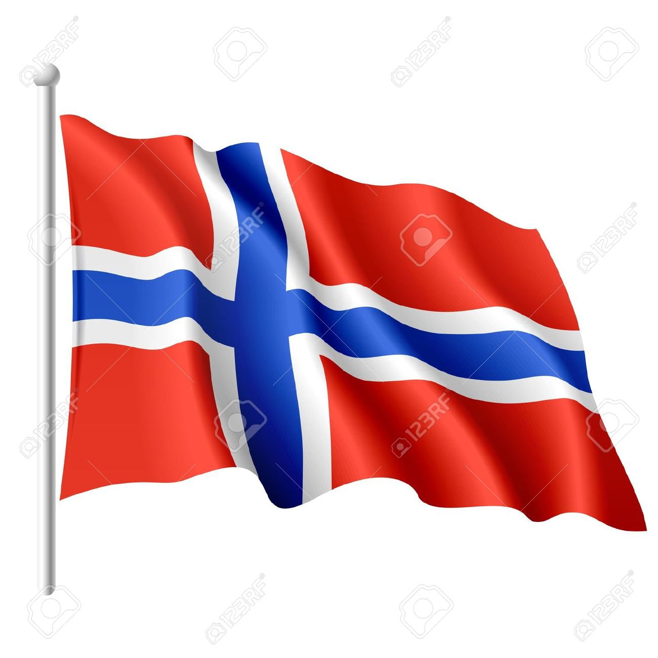 Norway Clipart Flag Flag Clipart