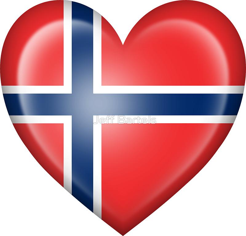 Norway clipart red heart Bartels Flag bartels Heart jeff