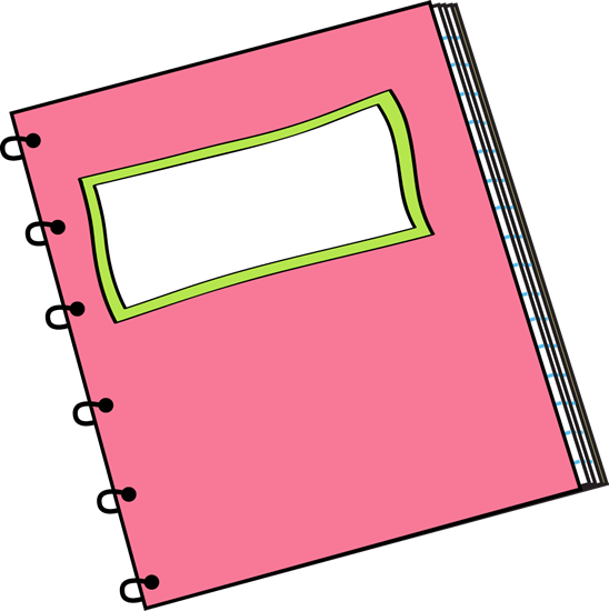 Notebook clipart notebook pencil Others Clipart and Art Free