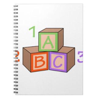 Notebook clipart abc & Abc Two ABC Zazzle