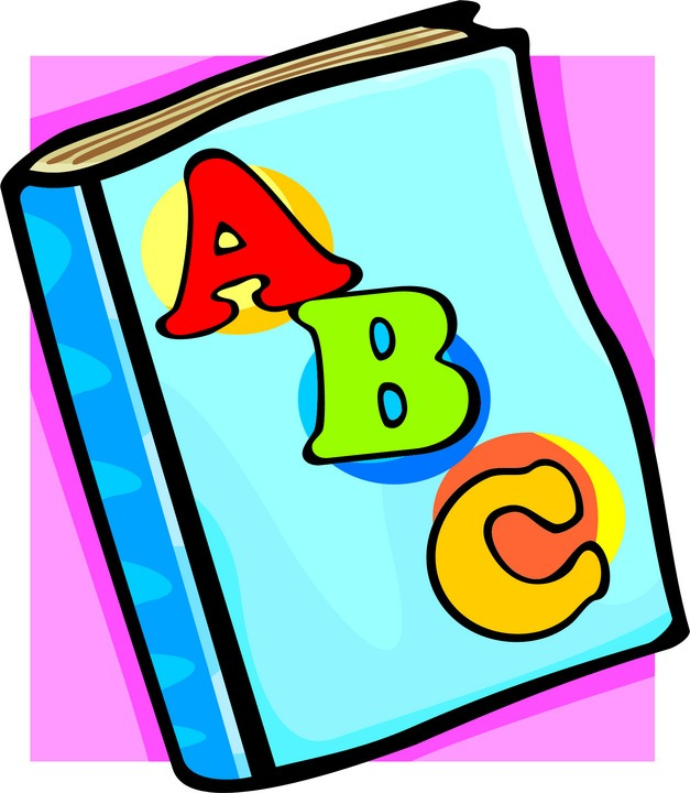 Notebook clipart abc Help to pictures book books