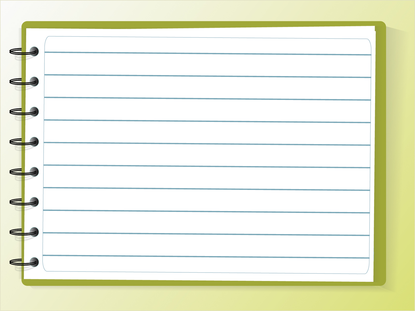Notebook clipart background Education PPT PPT Notebook