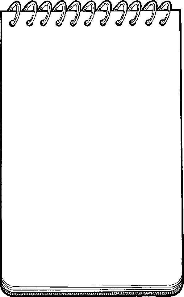 Notebook Clipart Panda Clipart