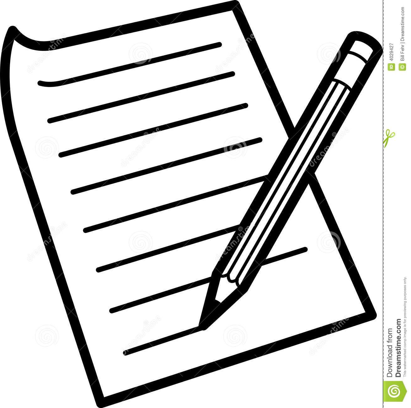Pen clipart essay outline Pencil art clip black And