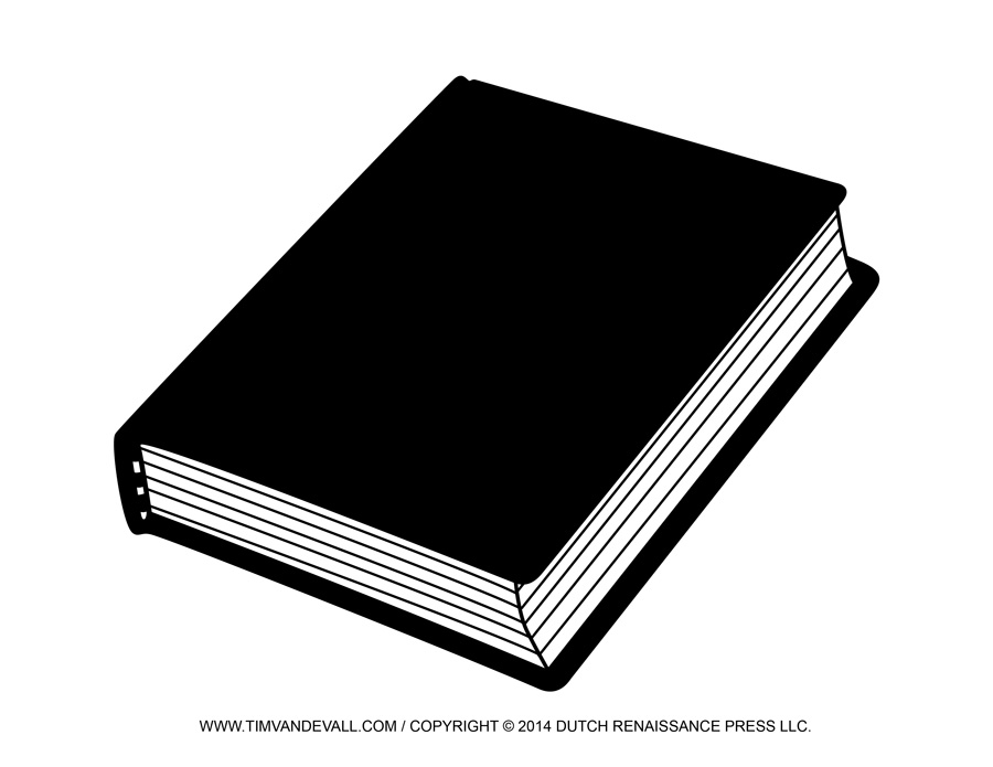Notebook clipart book cover Free Closed White Reading Report