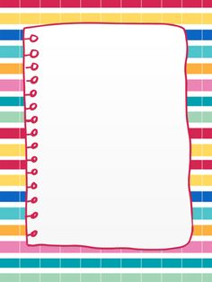 Notebook clipart border All School on Borders Free